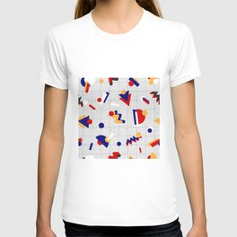 Memphis geometric pattern T-shirt