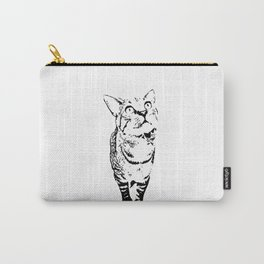 Tiny the Cat Carry-All Pouch