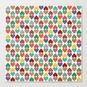Colorful Love Pattern X by kapstech