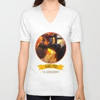 league of legends V-neck T-shirts featuring League Of Legends - Evelynn by TheDrawingDuo