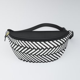 Herringbone Boarder Fanny Pack