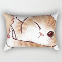 want to kiss Rectangular Pillow