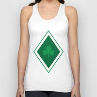 irish Tank Tops featuring Irish Argyle by Fimbis