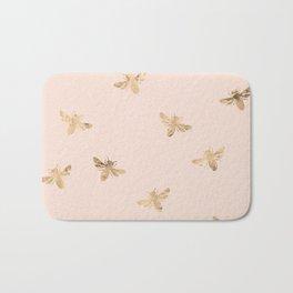 Busy Bees (Pink) Bath Mat