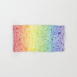 Rainbow Circles Hand & Bath Towel
