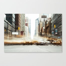 Traffic in Motion Canvas Print
