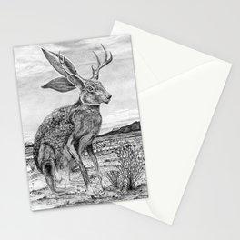 Chisos Mountain Jackalope, Big Bend National Park Stationery Cards