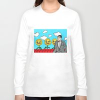 pee wee Long Sleeve T-shirts featuring Pee Wee's Playhouse by Jaime Knight Art