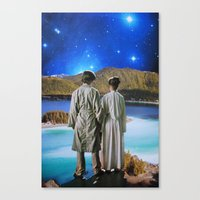 twins Canvas Prints featuring Twins by John Turck
