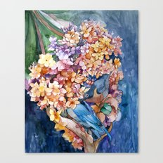 Making nest Canvas Print