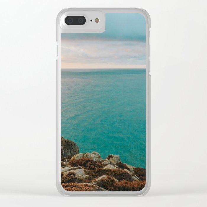 Twr Elin -Ellin's Tower South Stack Clear iPhone Case