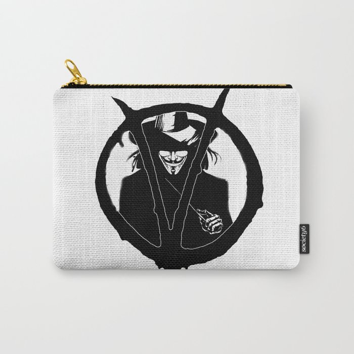 V for Vendetta3 Carry-All Pouch