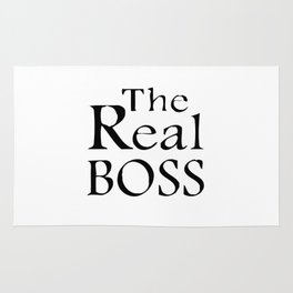 The real boss Rug