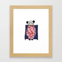 Heart Scan Framed Art Print