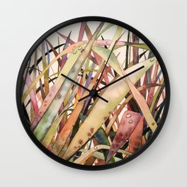 Lopez Grass Wall Clock