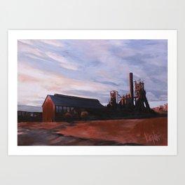 The Furnace Art Print