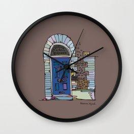 vintage door Wall Clock