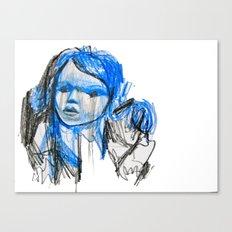 plastic girl Canvas Print