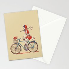 Death Ride Stationery Cards