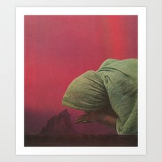 Prayer For Rain Art Print