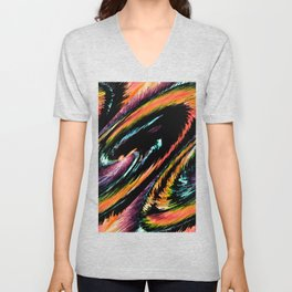 Every Day With You Is Colorful - Whirlwind Romance  Unisex V-Neck