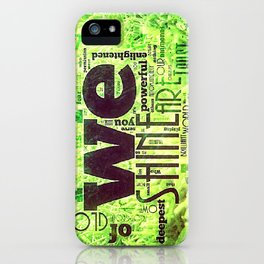 GRASS ROOTS iPhone Case