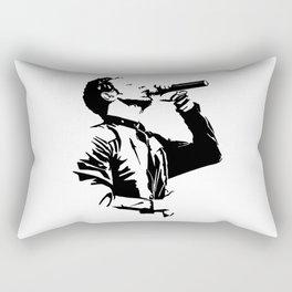 Chris Martin - Cold Play Rectangular Pillow