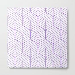 ZADA ((royal purple)) Metal Print