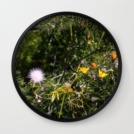 Spring Joy Wall Clock