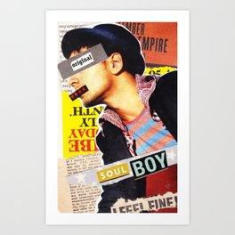 Soul Boy Art Print