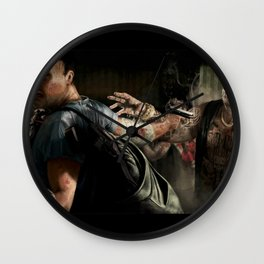 The End Is Extremely F****** Nigh! Wall Clock
