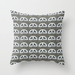 Protracted Dry Spell Throw Pillow