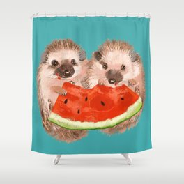 Love is Sharing Shower Curtain