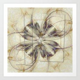 Groundlessness Balance Flowers  ID:16165-144053-72851 Art Print