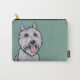 Levi the Miniature Schnauzer Carry-All Pouch