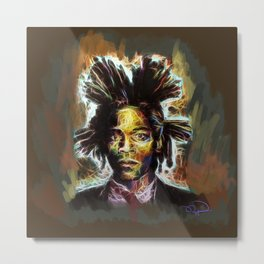 Jean Basquiat Metal Print