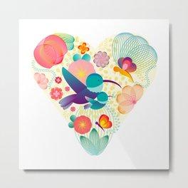 Love - Mother - Life Metal Print