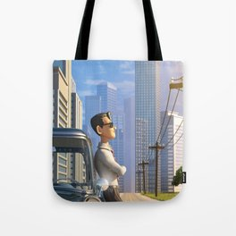 Luca's Day Off Tote Bag