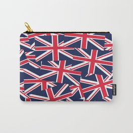 Union Jack Flags Carry-All Pouch
