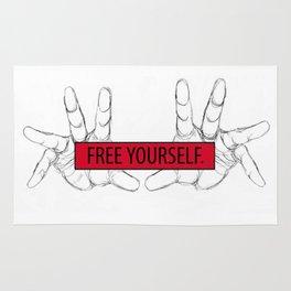 Free Yourself Rug