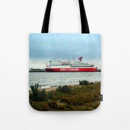 Spirit of Tasmania Tote Bag