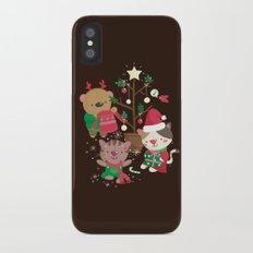 Holiday Crew iPhone X Slim Case