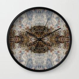Transcending (Mandala-esque #1) Wall Clock