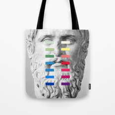 Sculpture With A Spectrum 1 Tote Bag