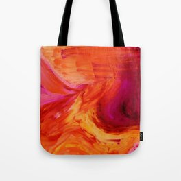 Abstract Hurricane II by Robert S. Lee Tote Bag