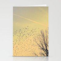 fly Stationery Cards featuring Fly by Olivia Joy StClaire