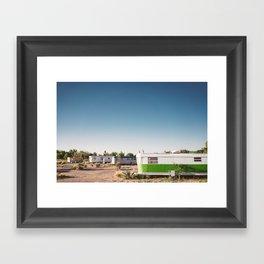 El Cosmico Framed Art Print