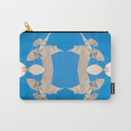 TWO COLOURS - BLUE AND WHITE Carry-All Pouch