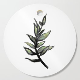 Sprig of Leaves - Katrina Niswander Cutting Board