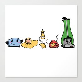The Gang's All Here! Canvas Print